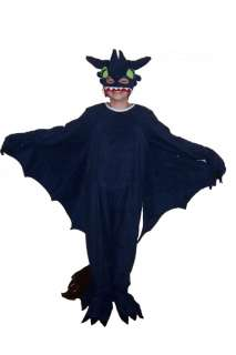 How to Train your Dragon Toothless Costume Night Fury 4