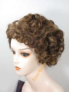 100% REMY Human Hair Lace Front Wig BAILEE in #P4/27/30