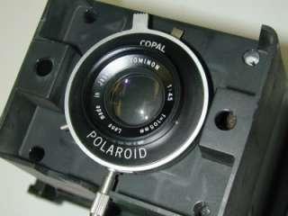 POLAROID DS34 DIRECT SCREEN INSTANT CAMERA COPAL TOMINON 14.5 F105mm