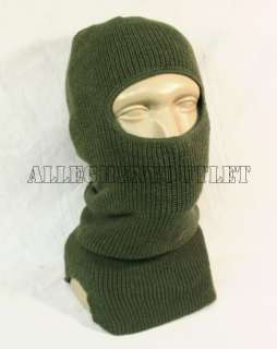 US Military Single Hole WOOL Balaclava Ski Mask Camo