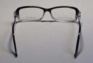 NEW BALENCIAGA 0058 53 14 140 VISION BLACK/CLEAR EYEGLASSES/GLASSES