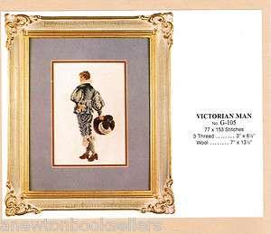 VICTORIAN MAN G 105 ~~ GITTAS Needlepoint Petit Point Chart