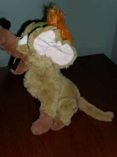 plush  OLIVER & COMPANY TITO Chihuahua dog