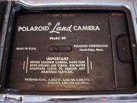 Vintage Polaroid Model 80 Folding Land Camera (1954 1957)