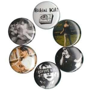 Bikini Kill Buttons Pins Badges