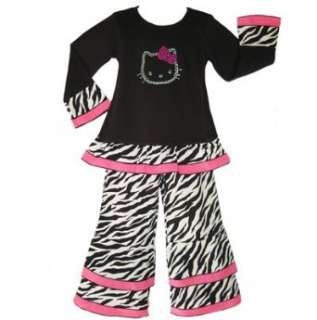 New Girls HELLO KITTY Boutique 2pc pants kids clothing