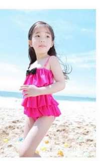 Girl Swimwear Tankini Swimsuit Bikini Bathers 2 7Y Swimming Costume