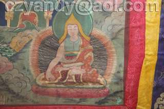 Name Wonderful Old Tibetan Buddhist Hand Painted Thangka
