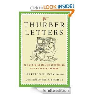 The Thurber Letters: Harrison Kinney, Rosemary A. Thurber: