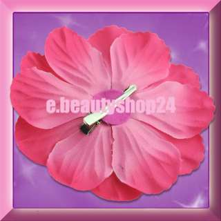 Peony Flower Girl Baby Hair Bow Clip Photo Props Christening Cute New