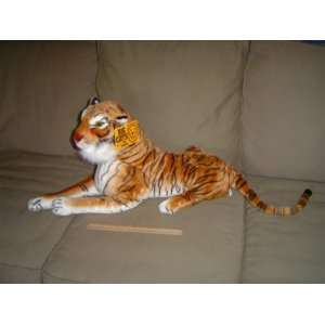 Tiger   Realistic Plush Big Cats Toys & Games
