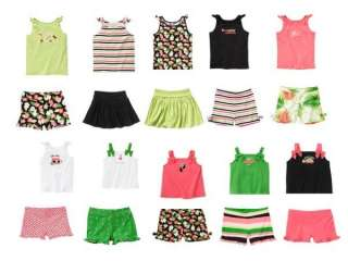 Gymboree Palm Beach Paradise Tank Tops & Shorts 2 3 4 5