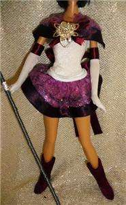 Sailor Saturn Barbie doll ooak Beauty Sailor Moon anime character