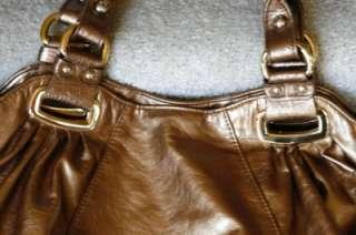 Glitzy Handbag Designer Inspired Gold tone Fashion Hobo