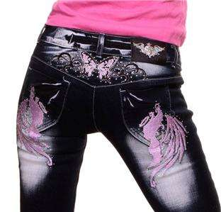 NEW***PLUS SIZE CRAZYAGE **PINK** ANGEL JEANS SIZE UK 14 TO 22 HOT