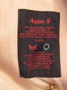 AQUASCUTUM LONDON MANS AQUA 5 TAN CLASSIC VTG TRENCH MAC OVER COAT