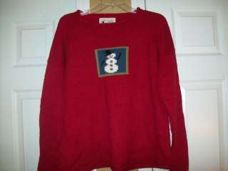 PLANET EARTH IMPORTS Hand Loomed Christmas Holiday Sweater 3 LG XL