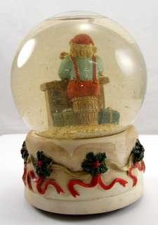 Vintage Snow Globe Santa Clause