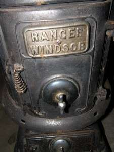 Ranger/Windsor No127 Cast Iron Pot Belly Stove, refurbished , SALE
