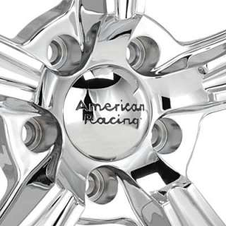 American Racing Authentic Hot Rod BLVD Chrome Plated