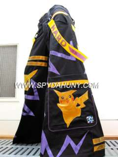 Spydahunny Shuffle Rave Pika PHAT PANTS w/ FREE Plain Suspenders