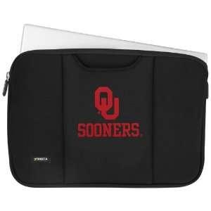 NCAA Oklahoma Sooners Black 13 Notebook Breathe Sleeve