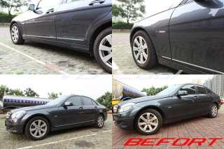 Mercedes Benz W204 C200 C300 C220 C CLASS Chrome Door Side Panels