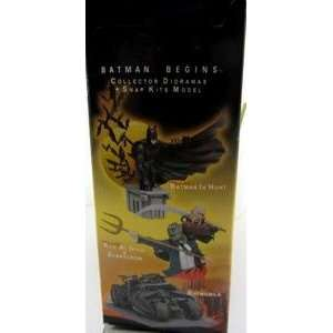 Batman Begins In Hunt Collector Diorama   Snap Kit Model