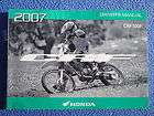 HONDA 2007 CRF100F CRF 100F DIRT BIKE MOTORCYCLE OWNERS MANUAL