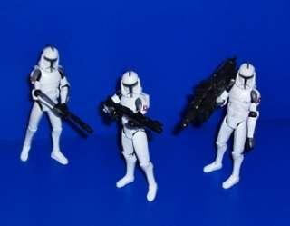 Master Plo Koon & AT TE Assault Squad Figure Lot Star Wars Clone Wars