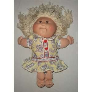 Cabbage Patch Kids Girl Blonde Hair Brown Eyes French