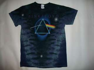 PINK FLOYD,DARK SIDE OF THE MOON, TIE DYE, T SHIRT IN MEN SIZE S,M,L