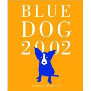 Blue Dog 2002 Engagement Calendar with Planner