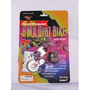 The Official Ryan Nyquist BMX Dirt Bike Keychain (1999) Toys & Games