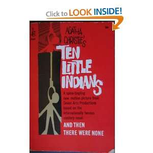 Ten Little Indians Alatha Christie  Books