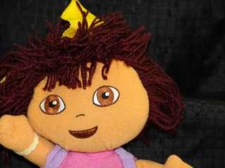 Plush Dora Explorer Backpack Bag Doll Purse Lovey Toy