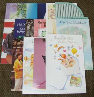 15★NEW Greeting/Birthday/Xmas/Wedding/Baby/Thanks Cards