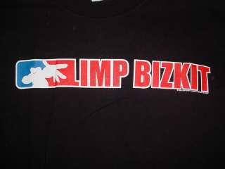 2000 Limp Bizkit shirt Concert Black t shirt XL