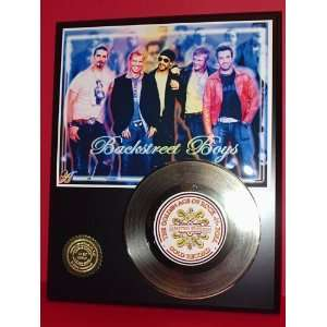 Backstreet Boys 24kt Gold Record LTD Edition Display ***FREE PRIORITY