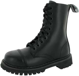 DEMONIA Pleaser Rocky 10 Mens Steel Toe Combat Boot Sz 885487011806