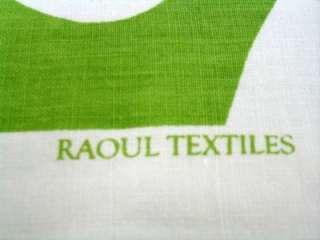 Fabric Custom Designer Pillow, Bolster,Cushion Green White