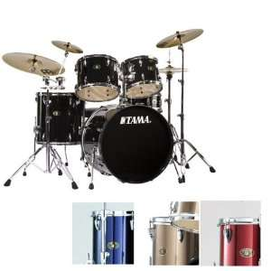 Tama Imperial Star Standard 5 piece Drum Set   Vintage Red