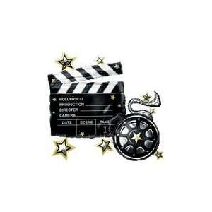 30 Take 1 Clapboard Hollywood Balloon   Mylar Balloon