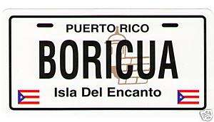 PUERTO RICO FLAG BORICUA CAR STICKER, DECAL