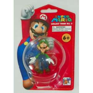 Nintendo Super Mario   LUIGI 2¼ Figure, 2007 Everything