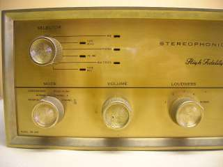 Vintage PILOT SM 245 Stereo Tube Amplifier
