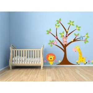ON SALE Kids Tree Set Everything You Need Owls Monkey Lion