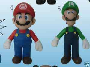 Nintendo Super Mario Bros. Figures Set