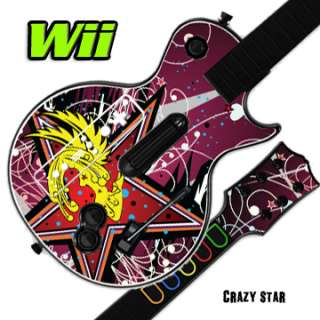 Cover for GUITAR HERO 3 III Nintendo Wii Les Paul   Crazy Star