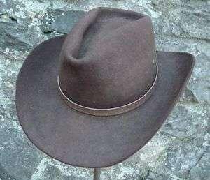 WESTERN HATBAND Hat Band LT BROWN SNAKE SKIN W TIES NEW